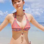 無【高宮まり】Gカップ 女流棋士が爽やかビキニ姿を披露