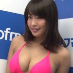 【橋本梨菜】Gカップ2 ピンクビキニとPR