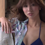 【青木愛】Eカップ アスリート美女のビキニ姿とシンクロを披露