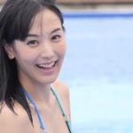 【浜田由梨】Fカップ デートと純白ワンピとプールと水中カメラ映像