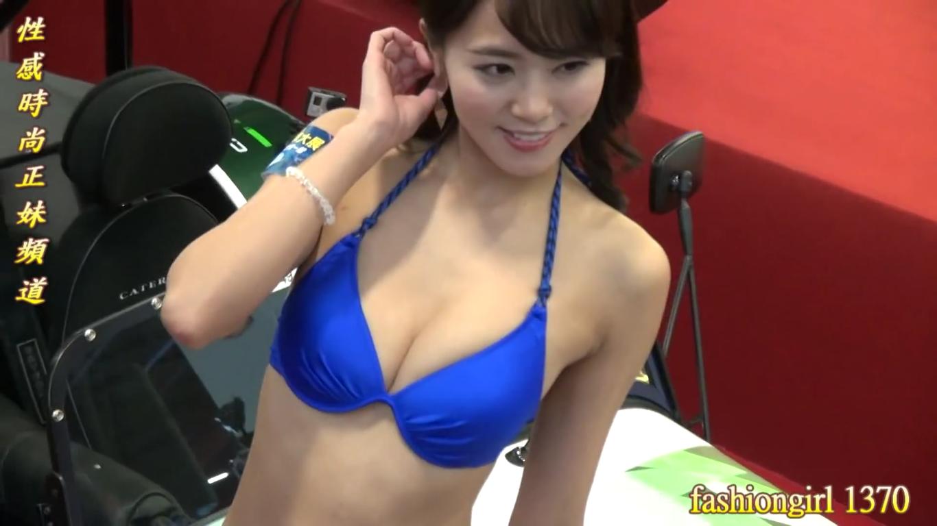 無【佐野真彩】-カップ2 ビキニと新車展