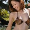 【小野真弓】Dカップ6 ビキニと大自然
