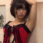 【安枝瞳】Dカップ4 ベビードールと網タイツ