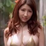 【亜里沙】Gカップ2 紐パンゴージャスビキニとセクシー