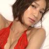 【芹那】-カップ3 紐パンと網タイツ