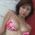 【MEGUMI】Hカップ 大迫力バストとセクシーな表情とぷるっとした唇
