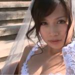 【佐野夏芽】Fカップ セクシーなウェディングコスで悩殺