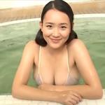 【藤森望】Gカップ2 のぞき見と入浴シーン