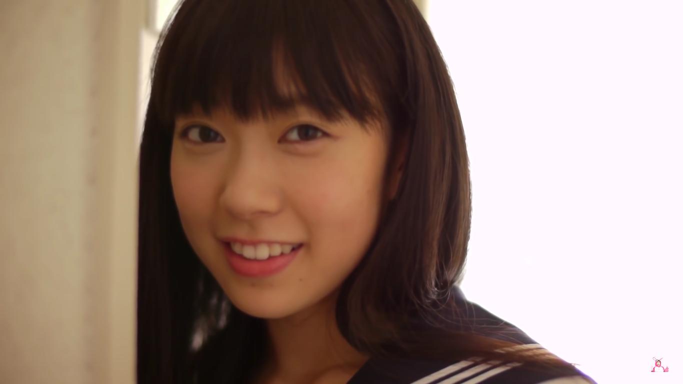 【渡辺美優紀】Dカップ 「みるネコ」セーラー服白ビキニプールシーン