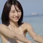 【武田玲奈】-カップ びしょ濡れ制服とチューブトップとビキニ