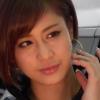 【河瀬杏美】-カップ へそ出しルック 大阪オートメッセ