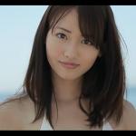 【桃瀬美咲】-カップ 白の紐パンビキニと爽やか笑顔とビューティー