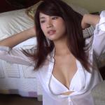 【久松郁実】Dカップ7 透けシャツと白ビキニと全身濡れ