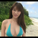 【原幹恵】Gカップ5 ビキニとビーチと棒倒しゲームと対話