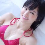 【山本彩】Dカップ9 紐パンビキニと入浴と濡れた体と髪の毛
