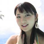無【鈴木咲】Aカップ3 黄ビキニとショーパンとプール
