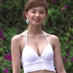 【朝比奈彩】-カップ4 さまざまな水着とスタイル抜群BODY