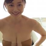 無【杉原杏璃】Gカップ13 眼帯ビキニでの入浴で泡だらけ濡れまくり