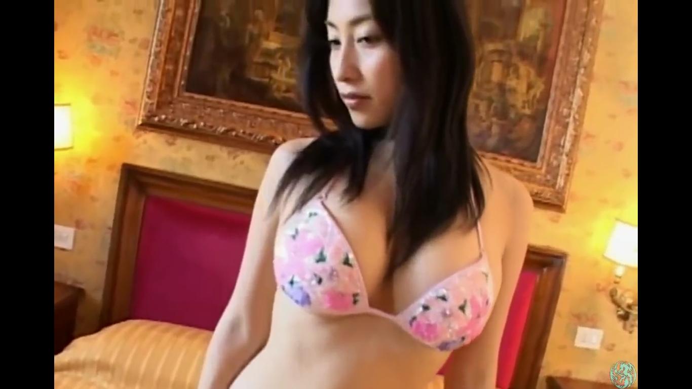 【佐藤寛子】Fカップ2 黒髪美人のしなやかな美肌BODY
