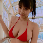 無【鈴木ふみ奈】Iカップ13 ビキニ×プール×胸揺れ×水中カメラ映像