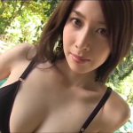 無【小林恵美】Fカップ8 セクシー黒ランジェリー×大人の色気