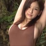 【亜里沙】Gカップ10 ハイレグ水着姿でフェロモン全開