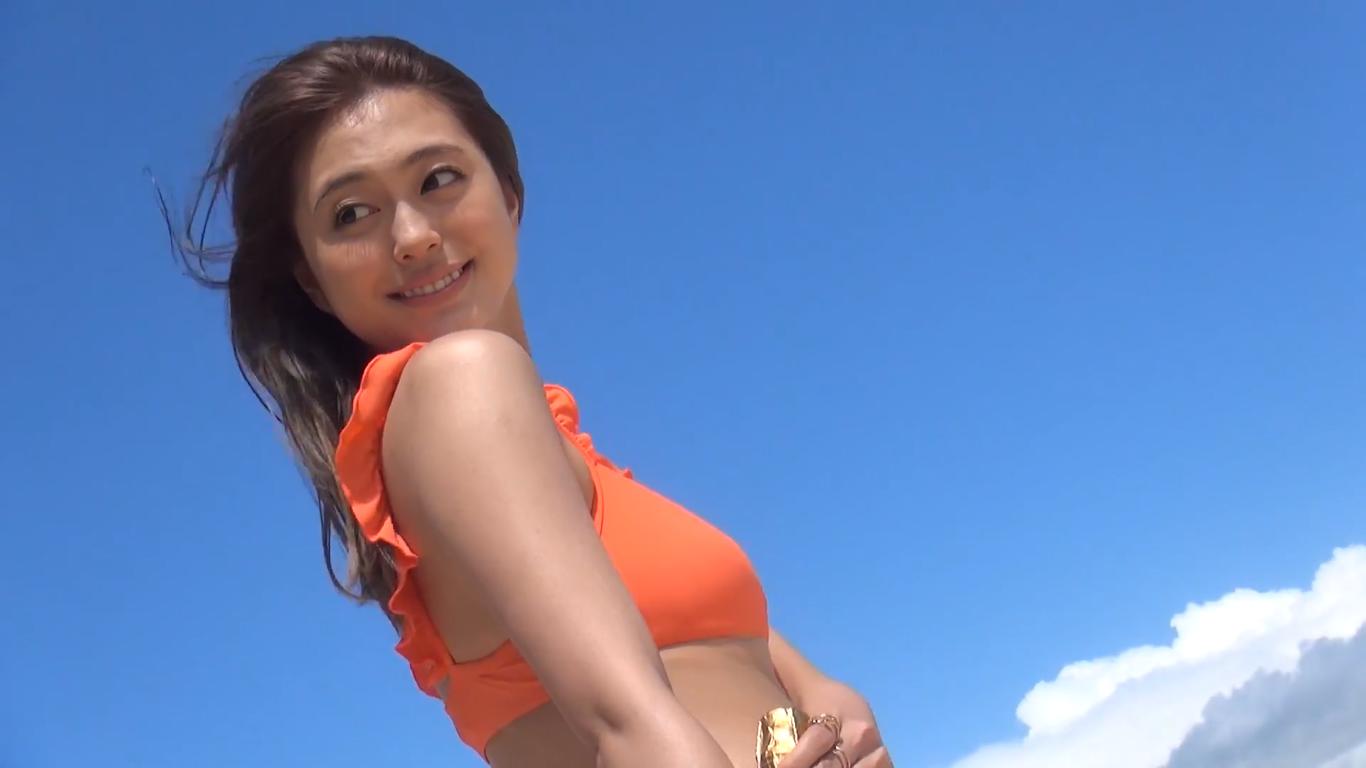 【大川藍】Eカップ5 写真集「iamai」メイキング映像で魅せる