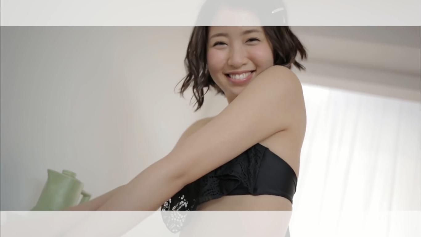 無【中野杏】Bカップ ミスFLASH2016グランプリのキュートなビキニ姿
