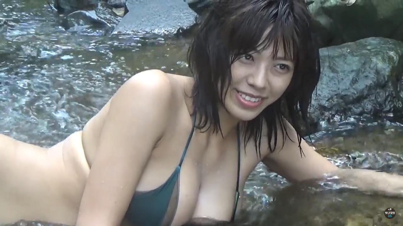 【わちみなみ】Hカップ4 ヤンマガ!動画!滅多にお目にかかれない神BODY