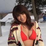 【久松郁実】Dカップ25 雪の銀世界でグラビアに挑戦!ビキニと雪!