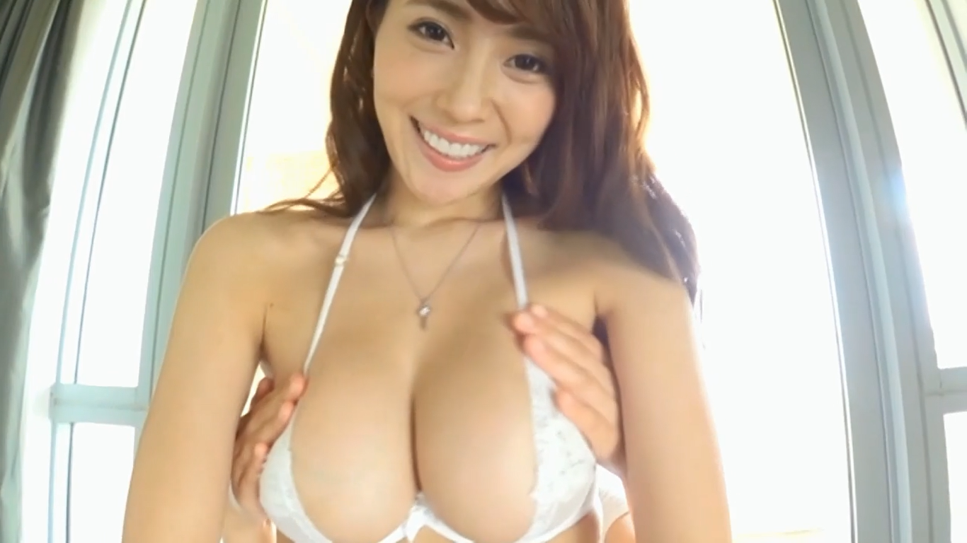 【森咲智美】Gカップ7 服を脱ぎお尻を突き出して好き放題触られちゃう!