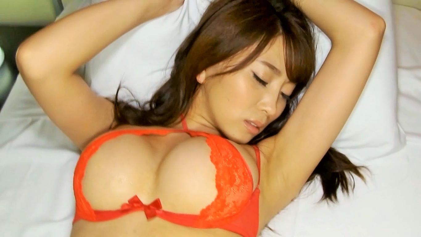 【森咲智美】Gカップ10 綺麗なお姉さんの悩殺ベッドシーン!誘惑しまくり!
