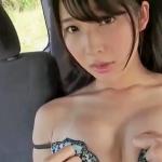 【川崎あや】Cカップ14 腰振りまくり!車内で驚愕の乱れっぷり!