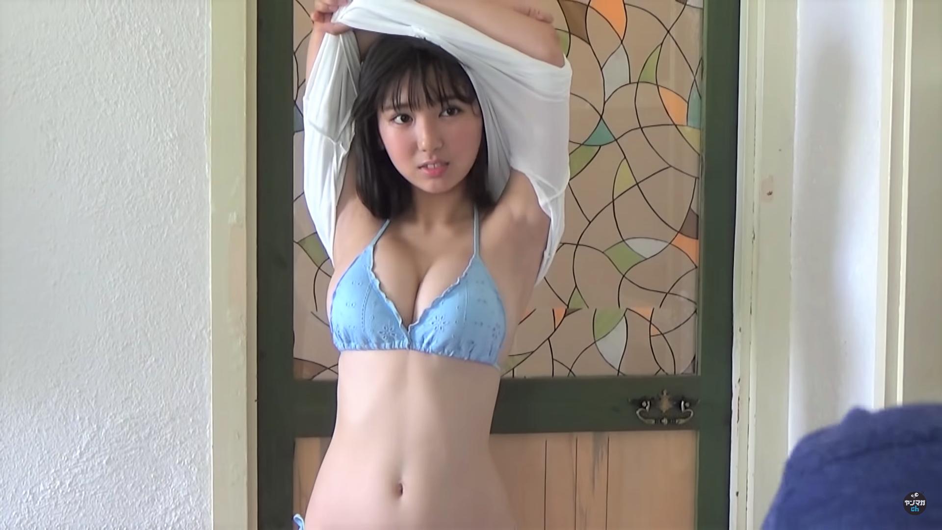 【沢口愛華】Fカップ2 ミスマガジン2018「グランプリ」に輝いたハリツヤ美BODYを披露!