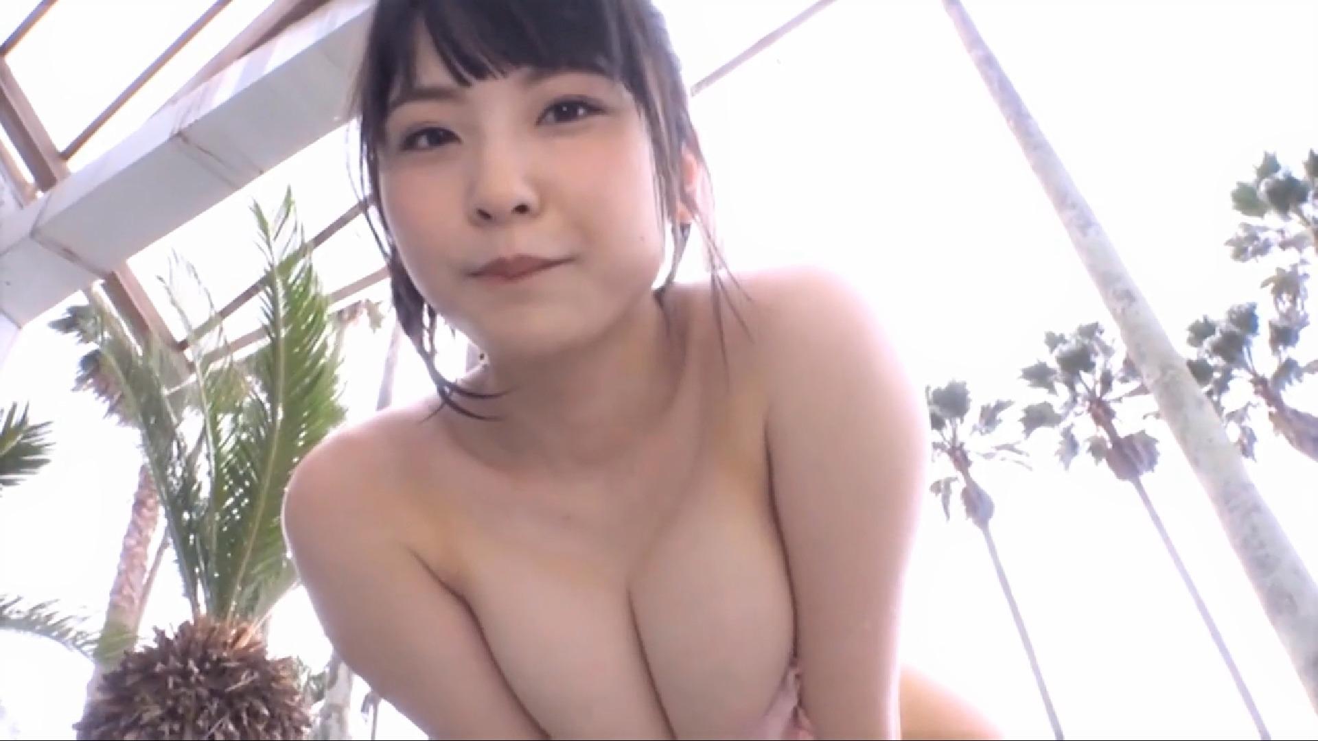 【藤井澪】Fカップ10 濡れたおっぱいに濡れたお尻で欲情待ったなし!