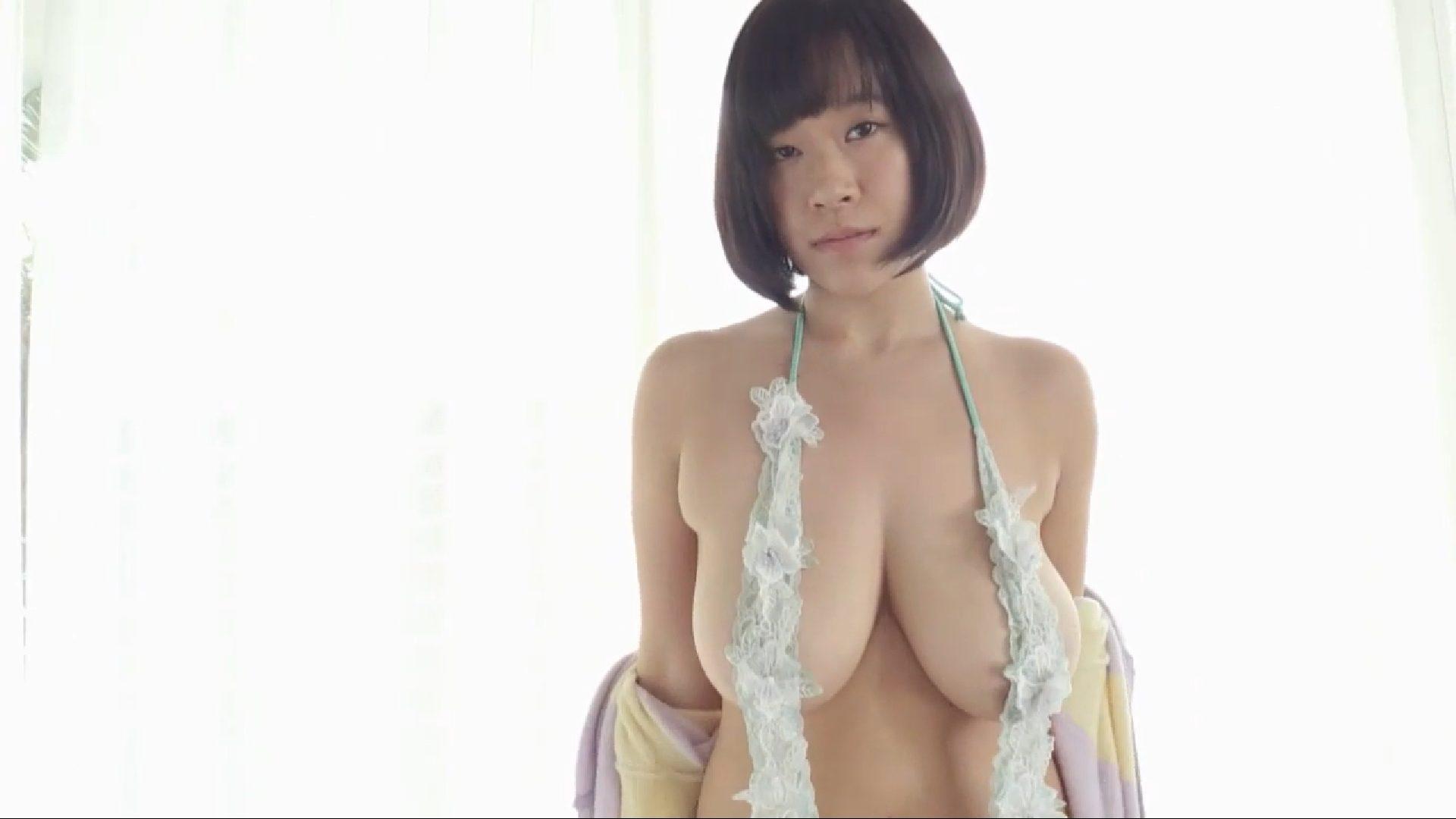 【日比谷亜美】Iカップ3 おっぱい激揺れ!しかも揉まれまくってしまう!