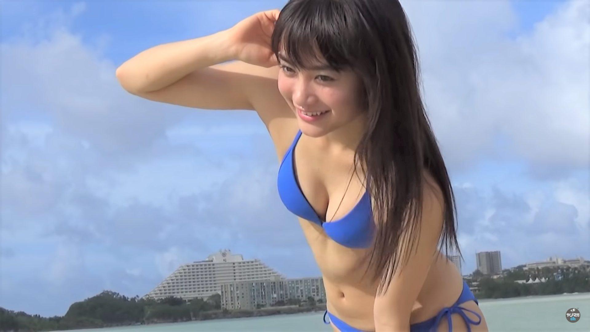 【福田愛依】-カップ 日本一かわいい女子高生!水着姿を披露!