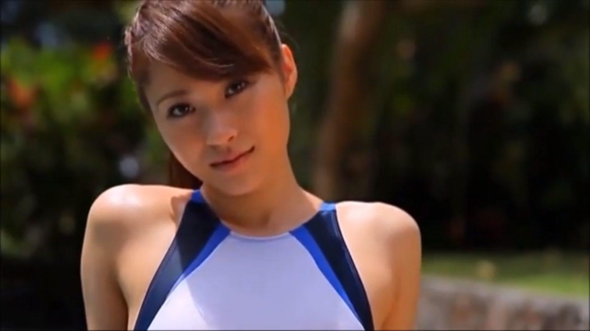 【山口沙紀】Dカップ3 美人のハイレグ水着姿!最強すぎる!