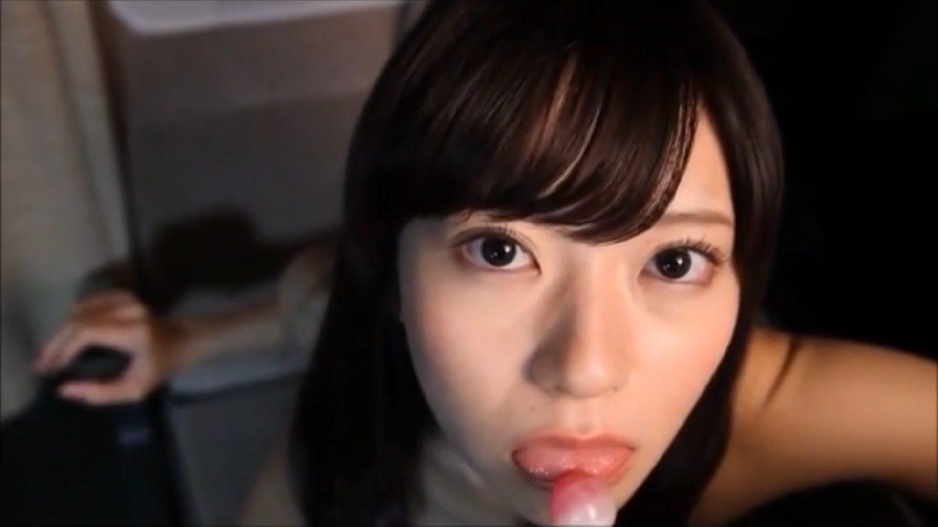 【田中めい】Bカップ5 じっくりねっとり舐める!見つめながら!凄まじい開脚姿も披露!