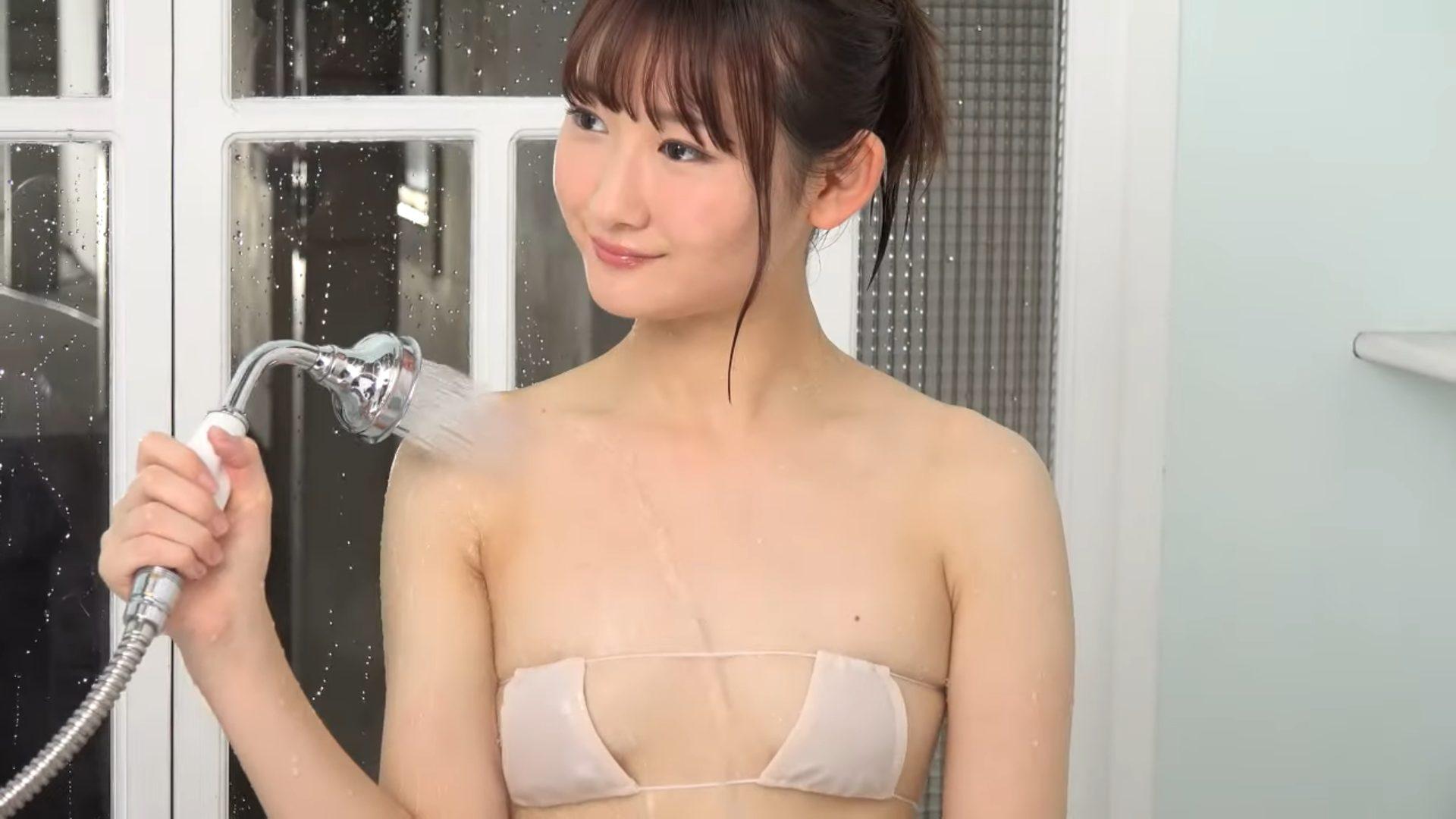 【近藤あさみ】-カップ2 服透けてる!濡れ姿がやばい!眼帯ビキニ姿もあります!