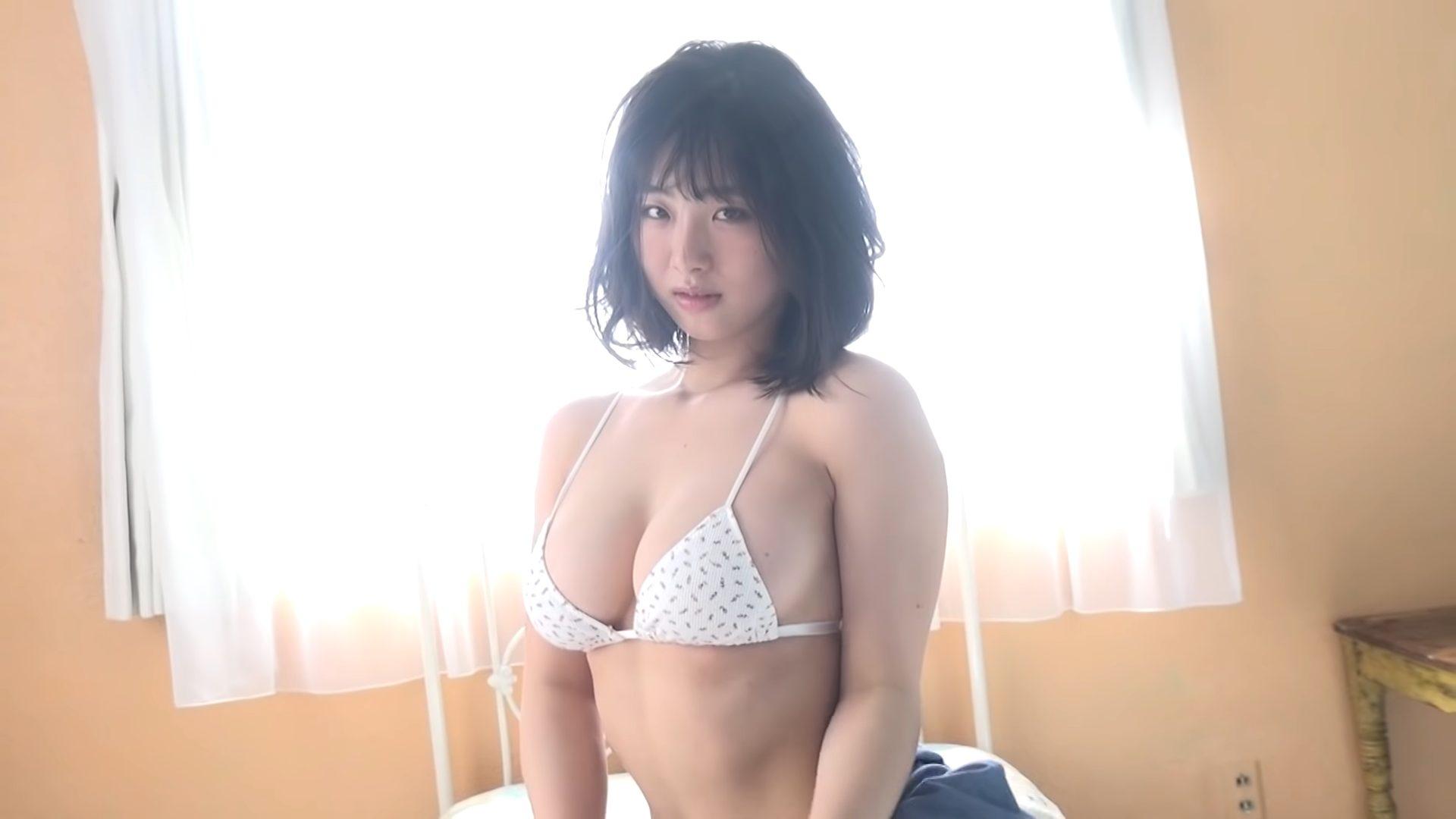 【大間乃トーコ】Hカップ 撮り下ろし動画!令和の新星!水着姿を披露!