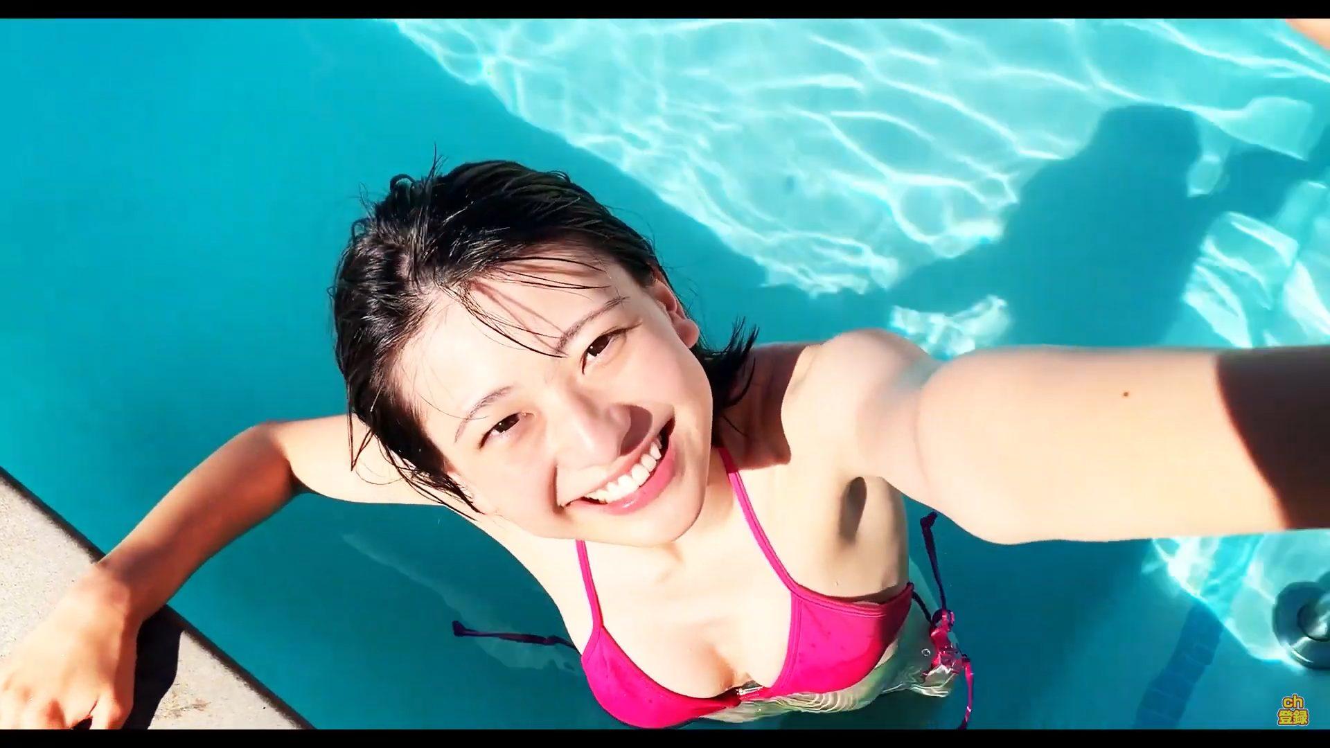 【山田南実】-カップ3 ファースト写真集「みなみと」メイキング!動画をご覧ください!
