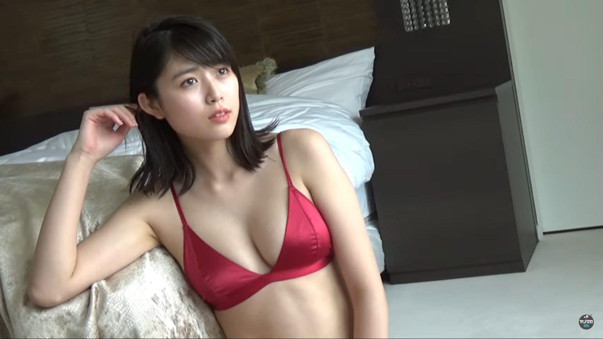 【北向珠夕】Eカップ3 ヤンマガグラビア動画!水着姿で魅了!