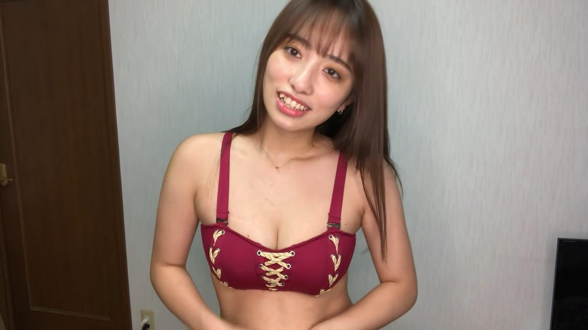 【高梨瑞樹】Fカップ8 お気に入り水着紹介!水着姿を披露!