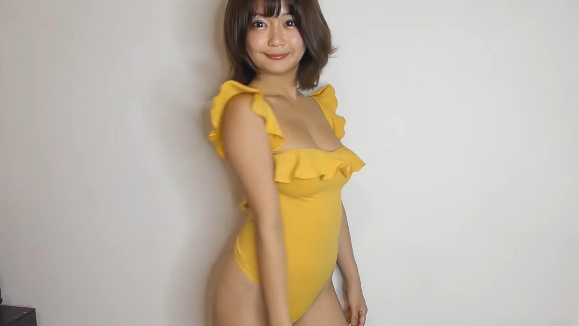 【藤田もも(桃咲あや)】Fカップ6 Tバック水着や冬服を紹介!水着姿を披露!