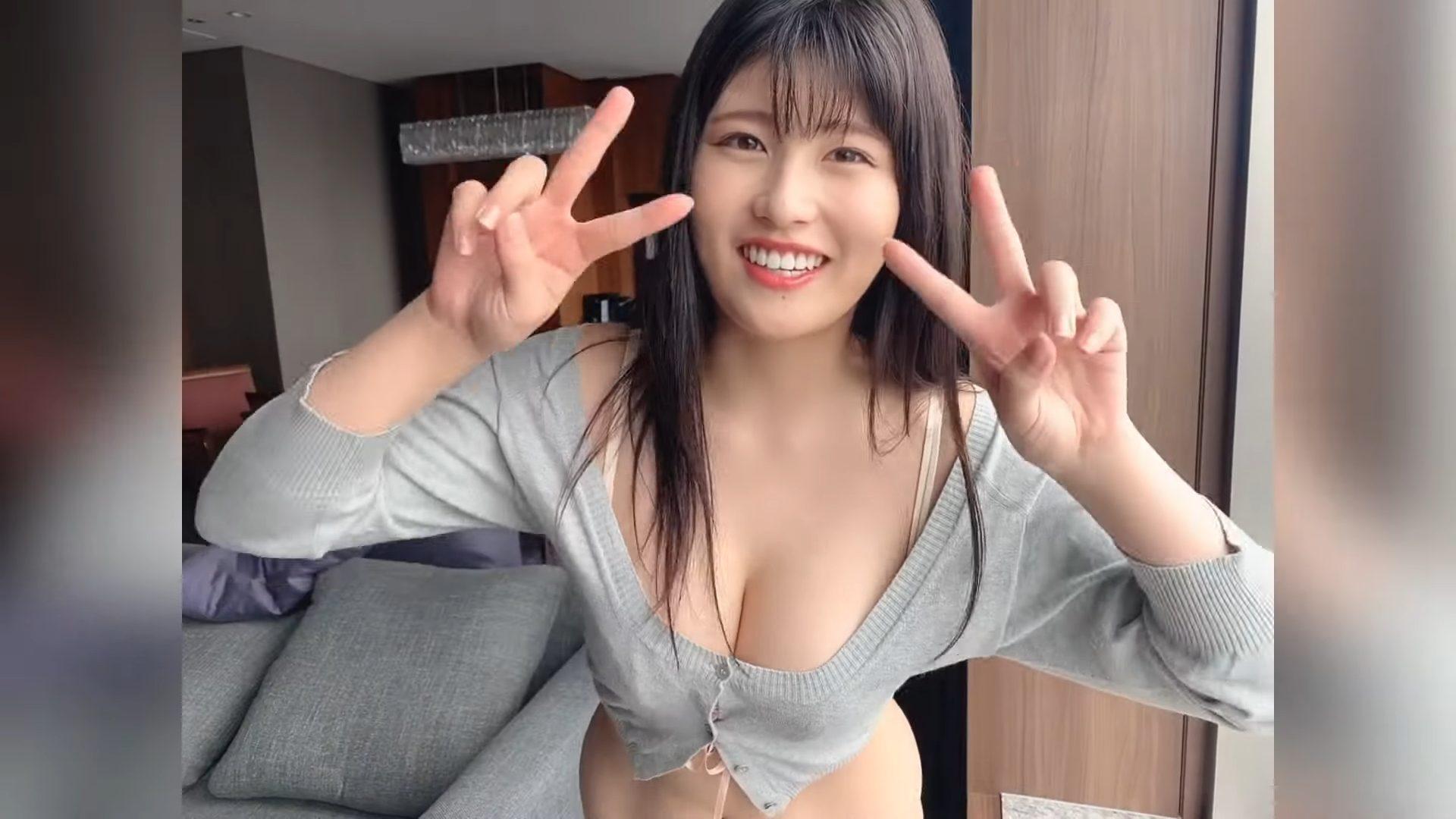 【ちとせよしの】Hカップ8 週刊ポスト!撮影現場動画!水着姿を披露!