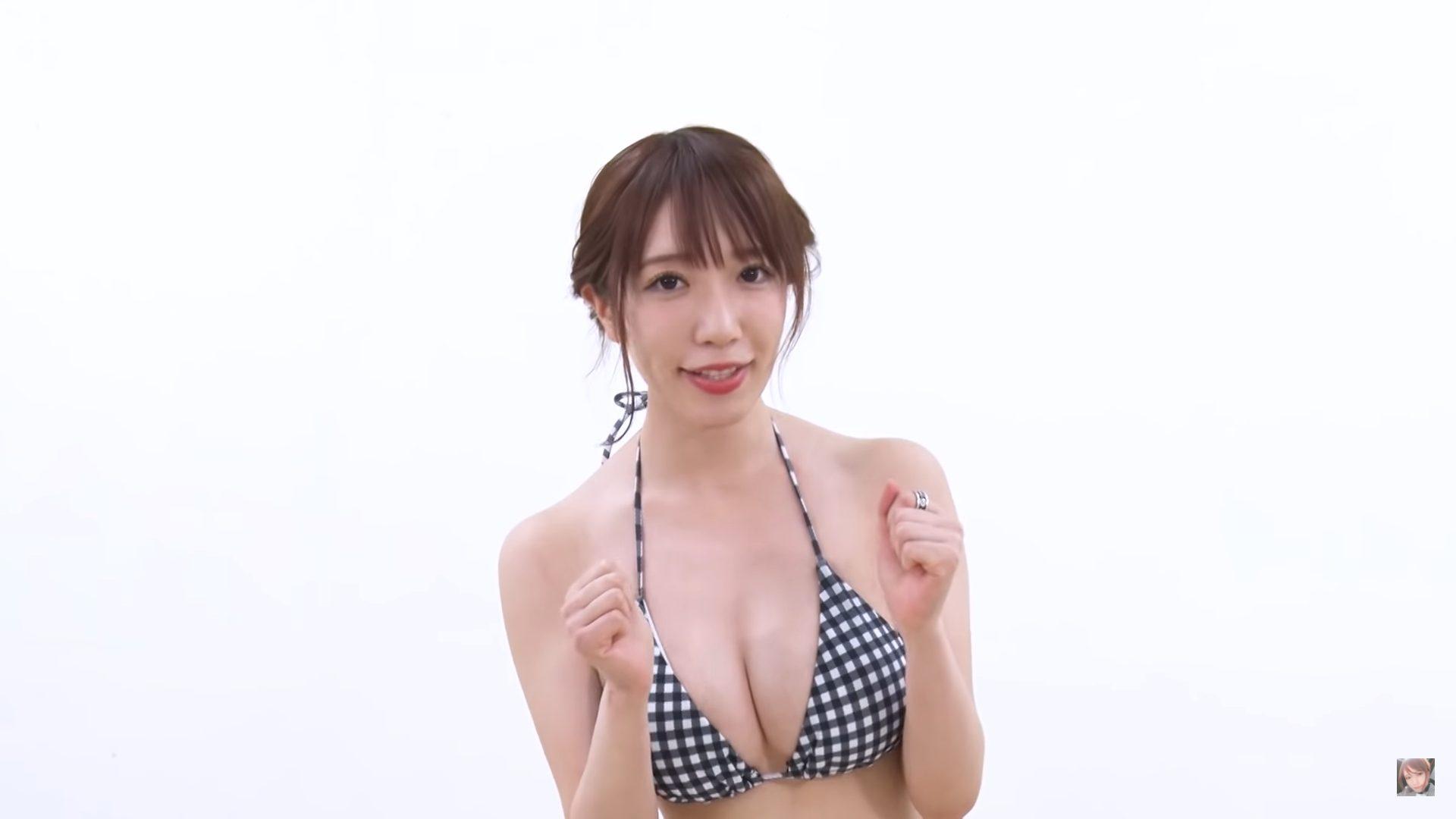 【清水あいり】Hカップ11 100枚パンツを履いてみた動画!水着姿を披露!