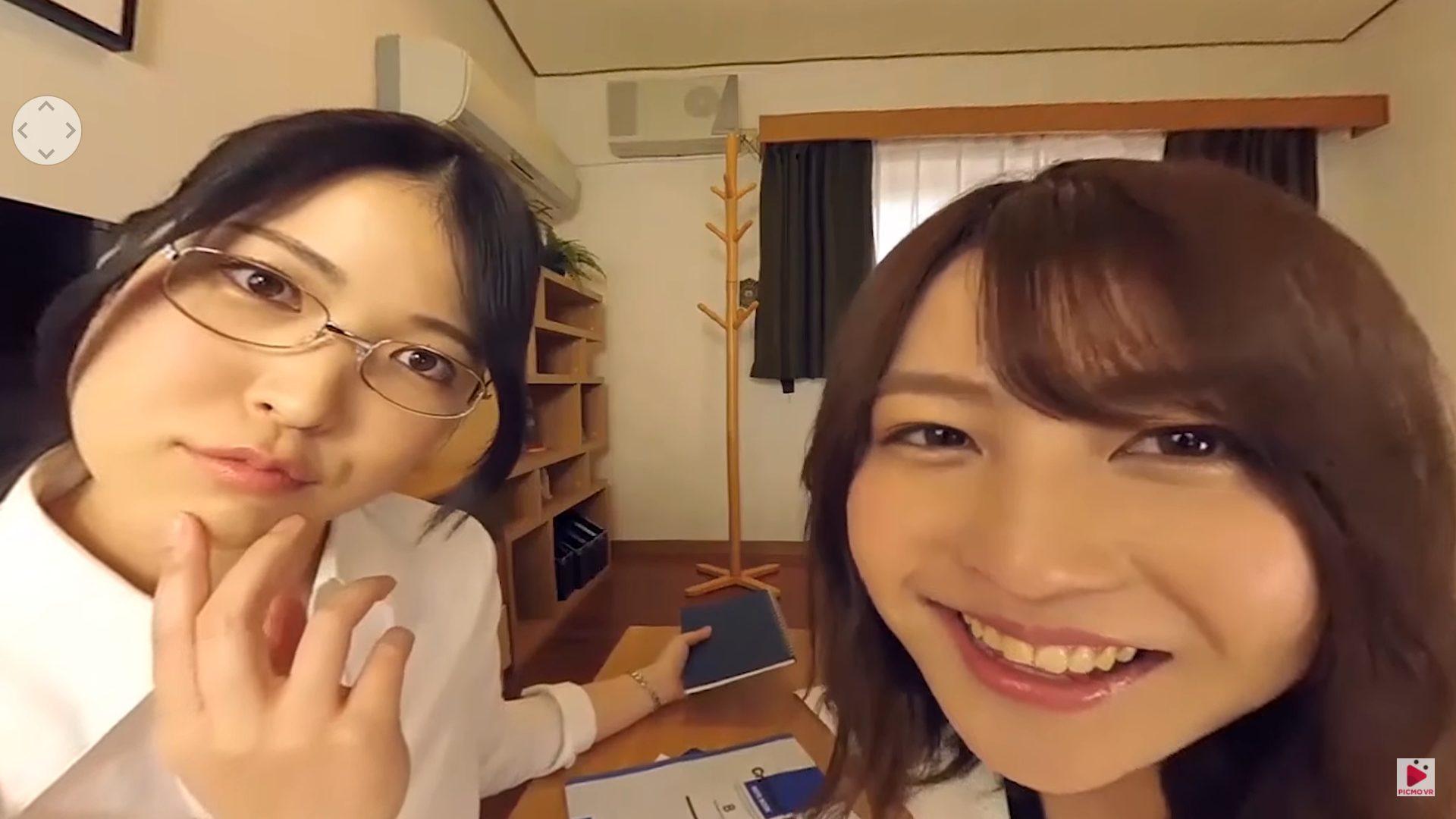 【小柳歩 中野ゆきみ】 「【VR】バーチャルダイブ このクラスの家庭教師2人つけるくらいでようやくヤル気になれる」サンプル動画