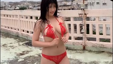 【ちとせよしの】Hカップ11 1st写真集オフショット動画!水着姿を披露!