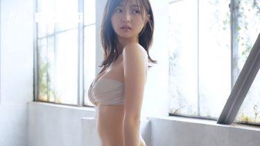 【橋本萌花】Eカップ7 ヤングガンガン!グラビアメイキング動画!水着姿を披露!